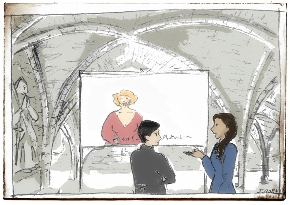 A tale in the crypt - storyboard of first scene of last chapter, The Quarter Percent